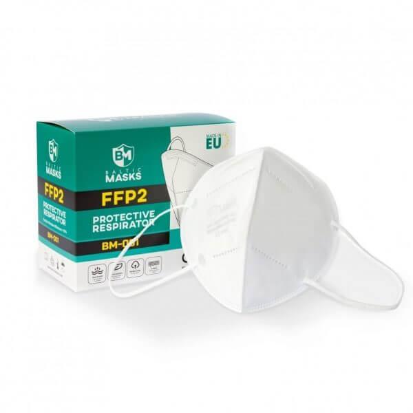 Baltic Masks FFP2 respiratoriai BM-001