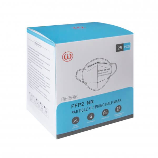 FFP2 respriatoriai (25vnt.)
