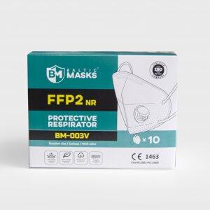 BM-003V FFP2 respiratorius su vožtuvu