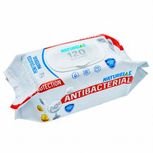 Drėgnos antibakterinės servetėlės