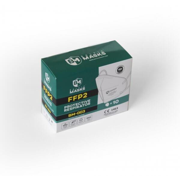 BalticMasks FFP2 respiratoriai (10vnt.) BM-003